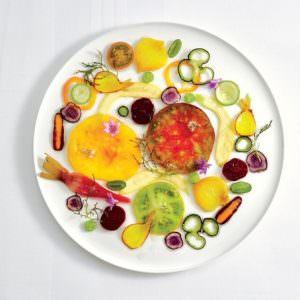 Carpaccio de légumes (Alain Passard)