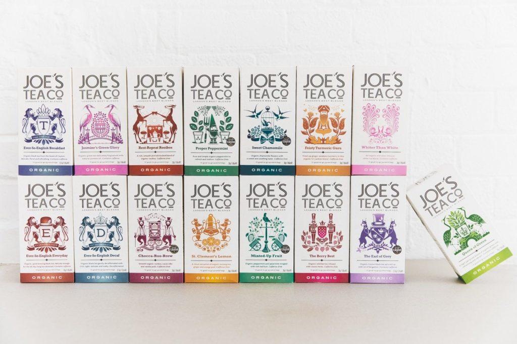 Collection de thés Joe's Tea