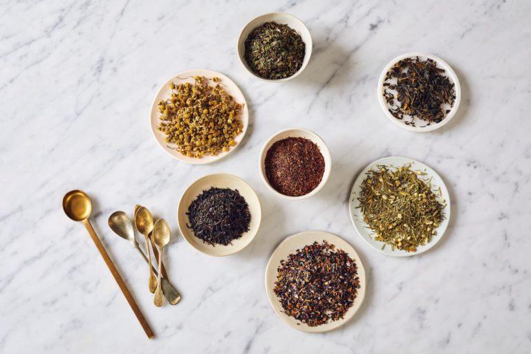 échantillons de thé Joe's Tea
